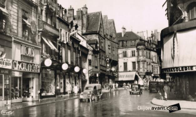 Toc toc, qui va là ? Le centre ville de Dijon dans les années 50