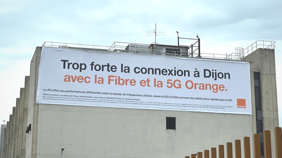 La 5G d'Orange est arrivée sur Dijon (et Chenôve)