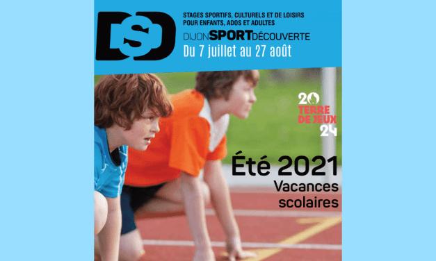 Dijon Sport Découverte – Du 7 juillet au 27 août 2021