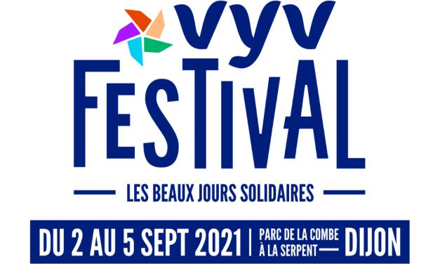 VyV Festival 2021 à Dijon : la programmation dévoilée !
