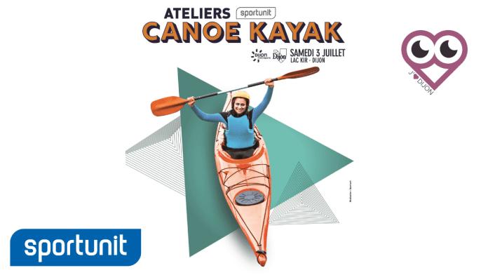 J'Aime Dijon, partenaire des Ateliers Sportunit canoë-kayak