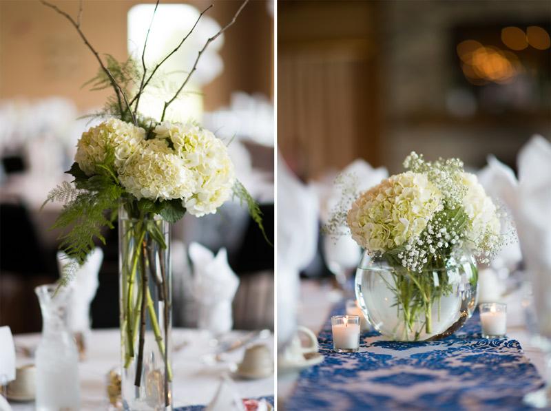 wedding-reception-blue-green-centerpieces-babys-breath