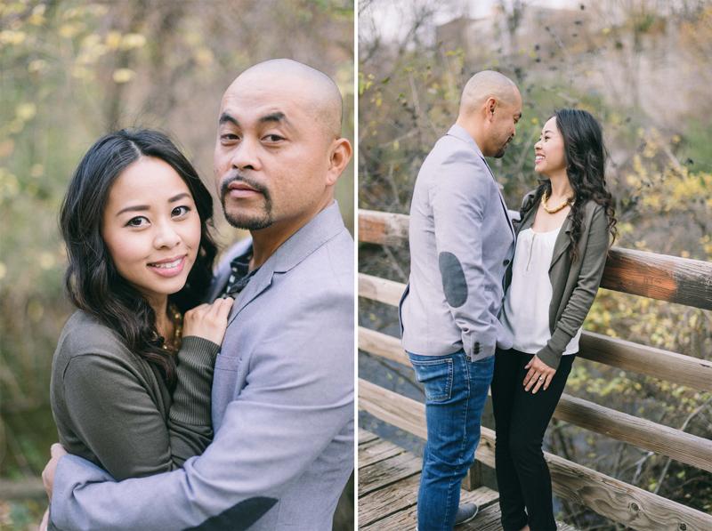 Minneapolis fall romantic engagement photos