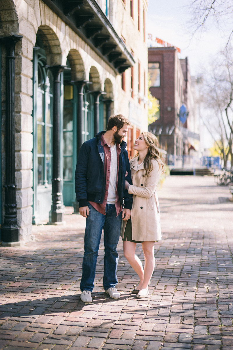 st anthony main minneapolis engagement photos