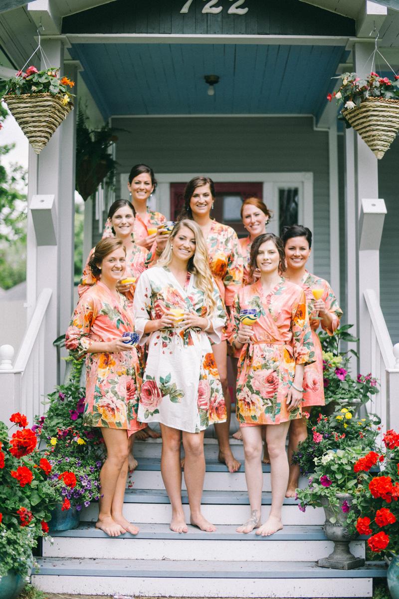 bayfield wisconsin wedding getting ready