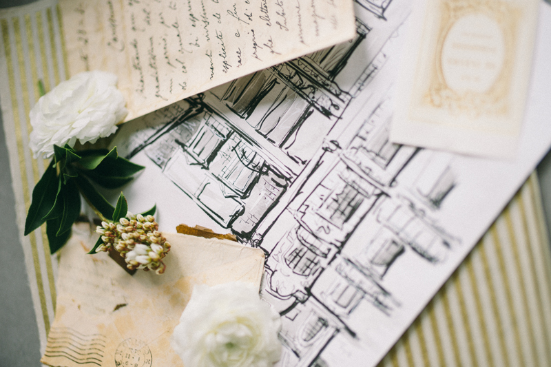 Paris inspired wedding