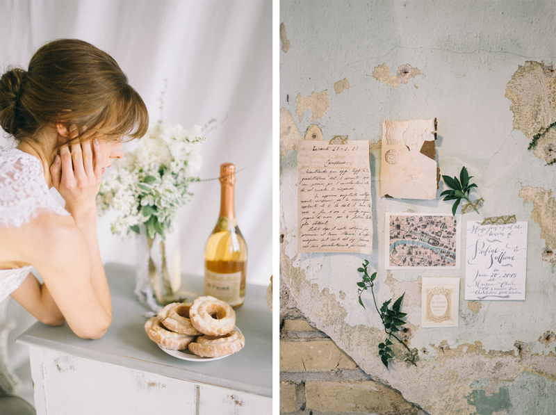 Paris inspired wedding with A Day in Provence floral
