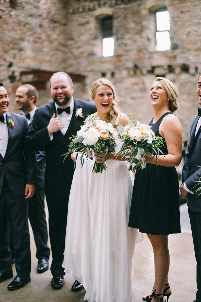 Mill City Museum wedding in Minneapolis