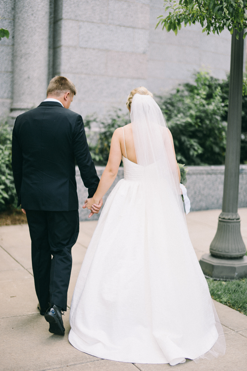 Cathedral of St Paul Summer Wedding photographed by Jaimee Morse Maine Wedding Photographer