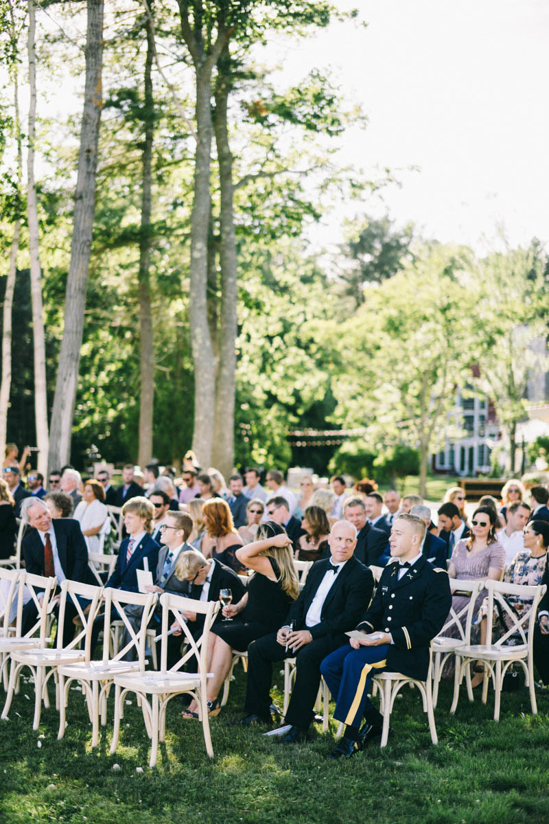 Tented Private Residence Wedding in Freeport Maine