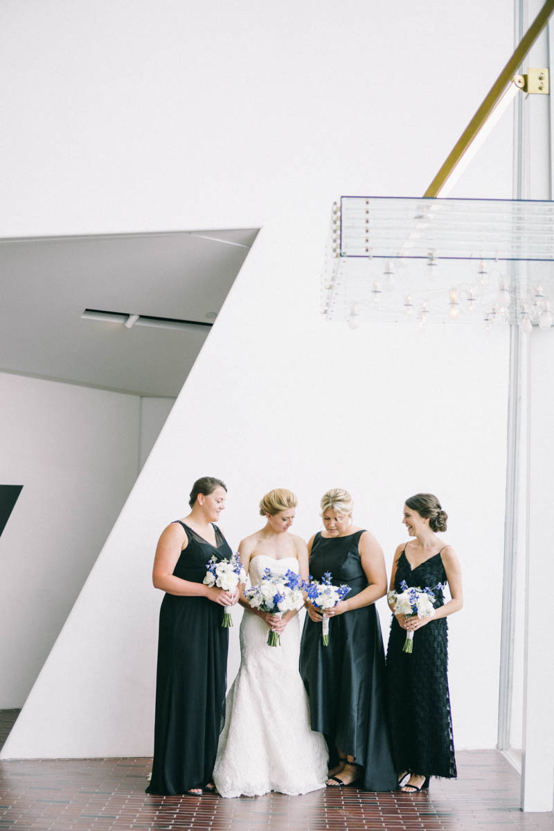 Modern Museum wedding Maine fine art wedding photography