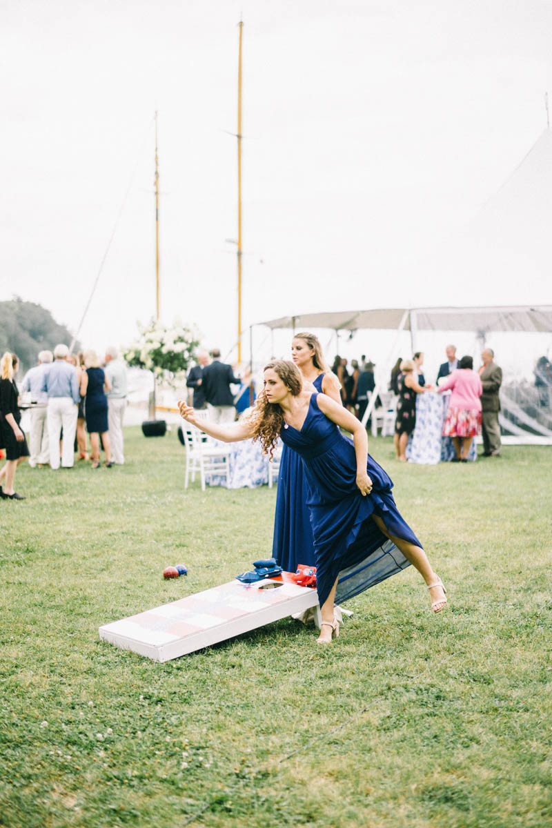 camden maine ocean front wedding