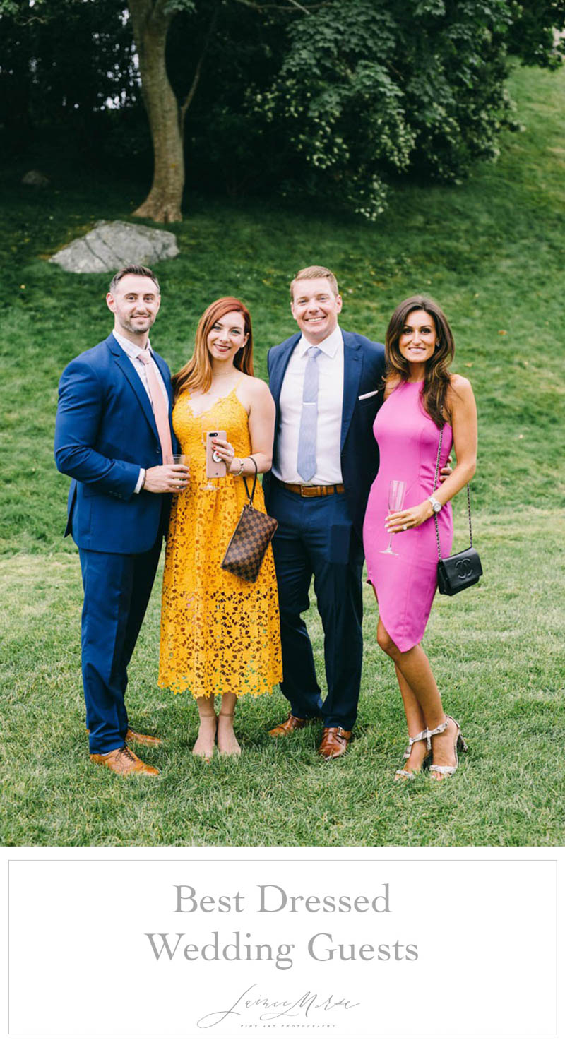 best dressed wedding guests