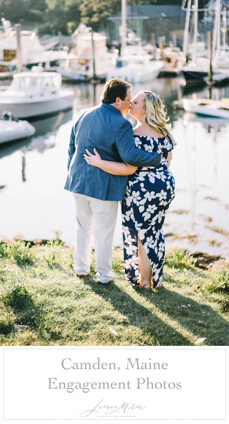 Camden Maine Engagement Photos