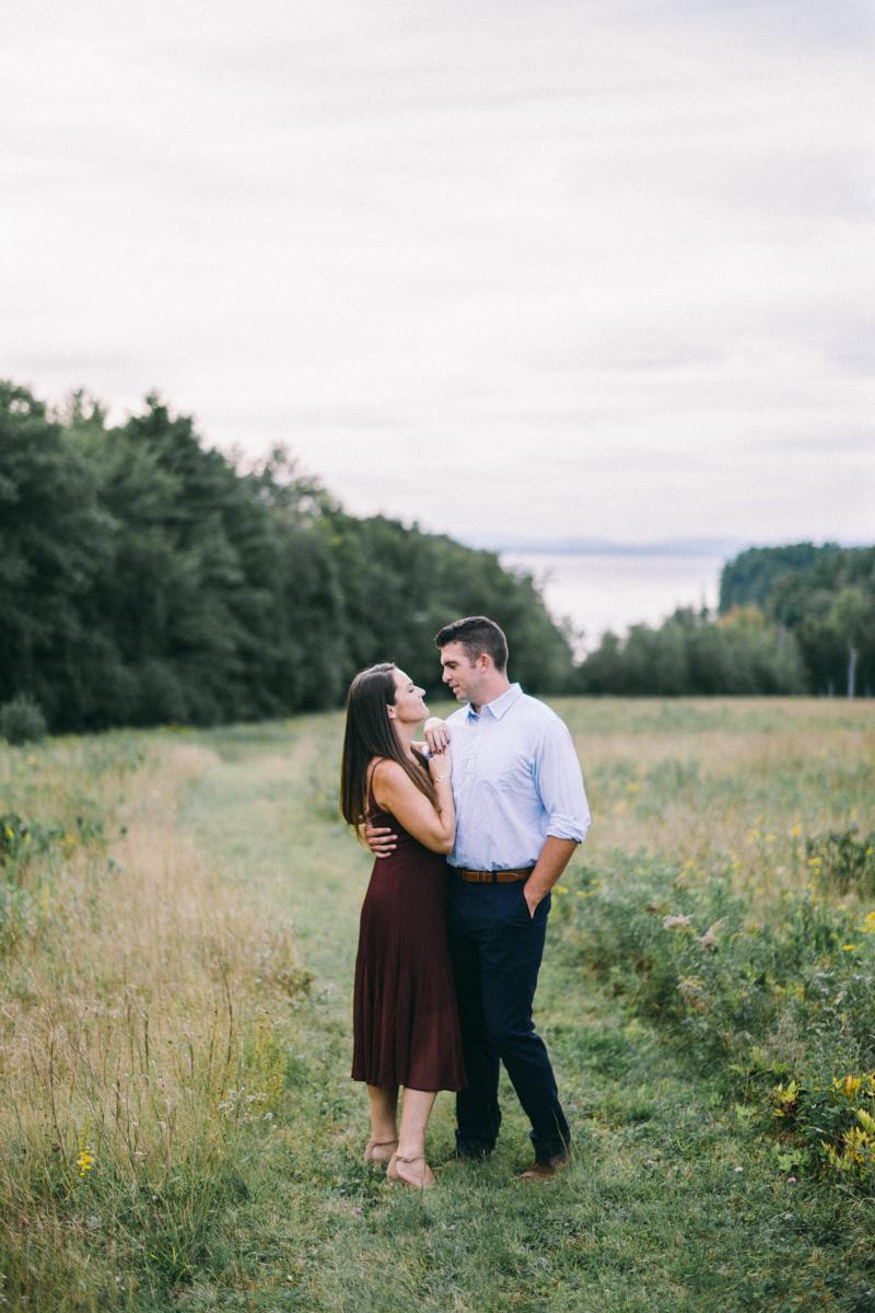 Lake Winnipesaukee Engagement Photos