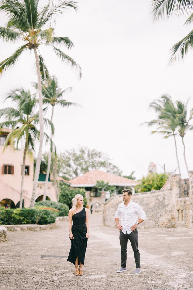 dominican republic engagement photos punta cana altos de chavon fine art engagement session
