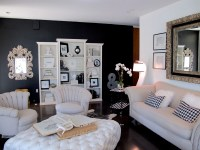 Try it: I painted my living room wall black  Jaimee Rose