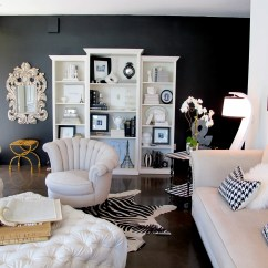 Paint My Living Room How To Arrange Furniture In Small With Bay Window Try It I Painted Wall Black Jaimee Rose Interiors