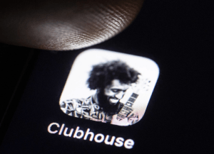 Red social Clubhouse