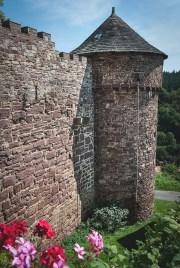 Muralla y torre secundaria