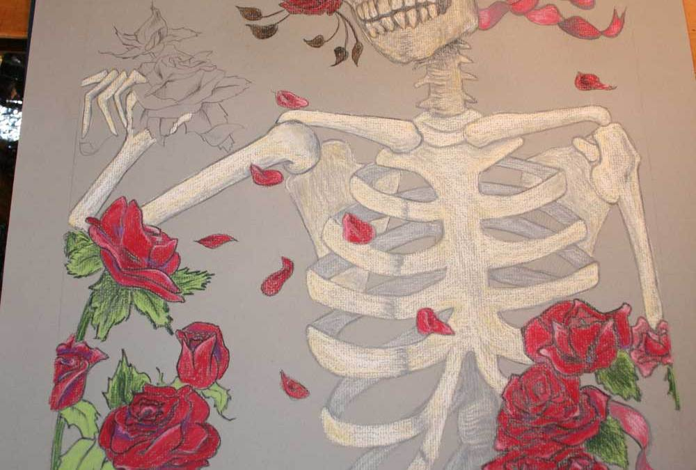 Roses for the dead (wip) – A nod to the Grateful Dead