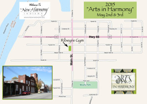 2015 map to Arts in Harmony