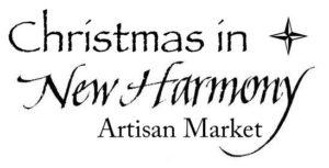 Christmas in New Harmony Artisan Market logo