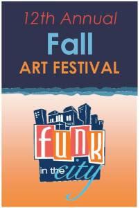 Funk in the City 2014 Fall Art Festival logo