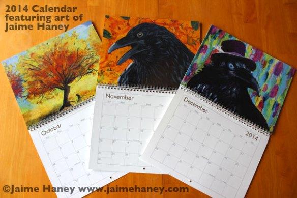 2014-Calendar-Jaime-Haney-October-November-December