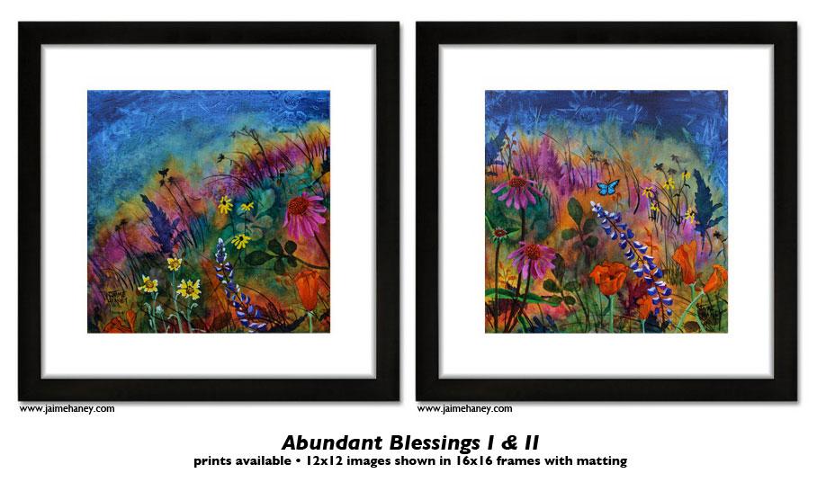 Now available Fine Art Prints of Abundant Blessings!