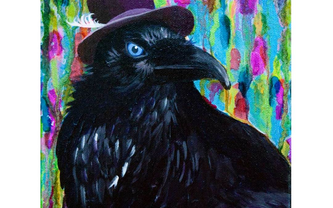 Beautiful Dreamer Raven