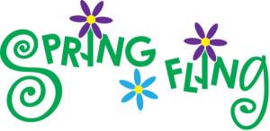 spring fling logo for new harmony indiana