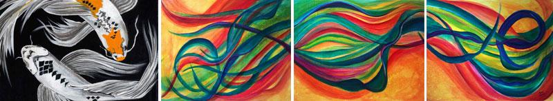 paintings by Jaime Haney