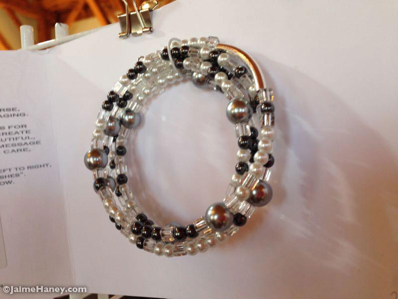 The Secret Message Bracelet by Blue Blood Black Sheep Jewelry
