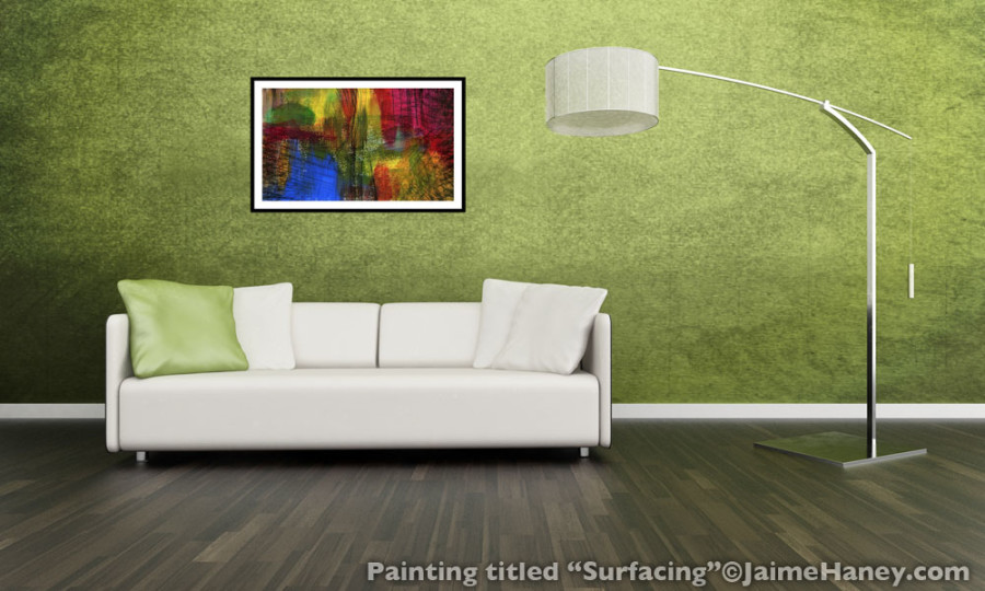 Abstract painting print for sale