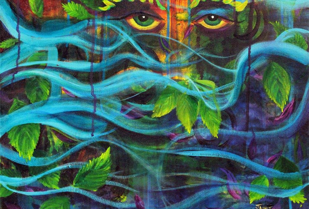 Mystical Mother Nature Print