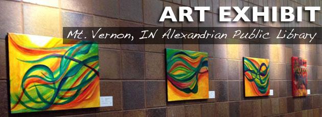 Art Exhibit – Alexandrian Public Library