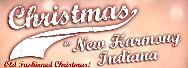 Christmas in New Harmony is this weekend!