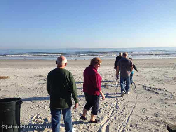discovering the beach at Hilton Head Island in Sea Pines