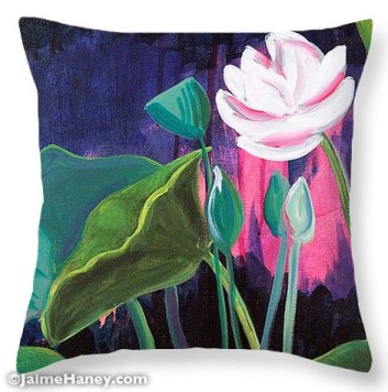 Lotus Garden 2 Pillow