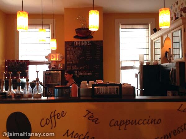 coffee bar Inside staC art gallery