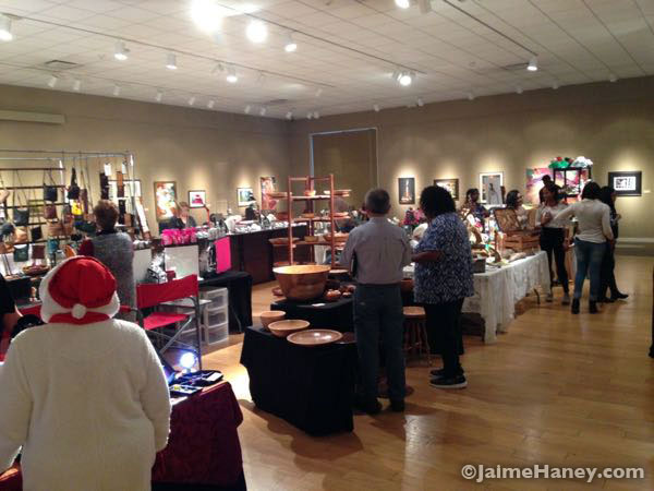 Vendors at Winter Art & Craft Festival