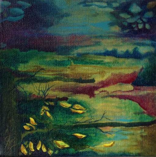 Free From Earthly Roots original painting