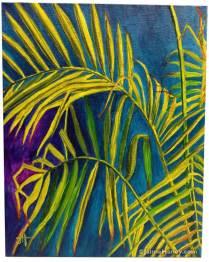 Majesty Palm painting titled Moody Majesty