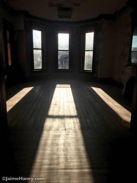 sunlight streaming in windows