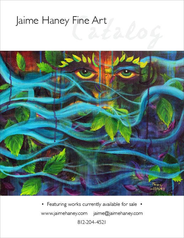 Jaime Haney art catalog cover