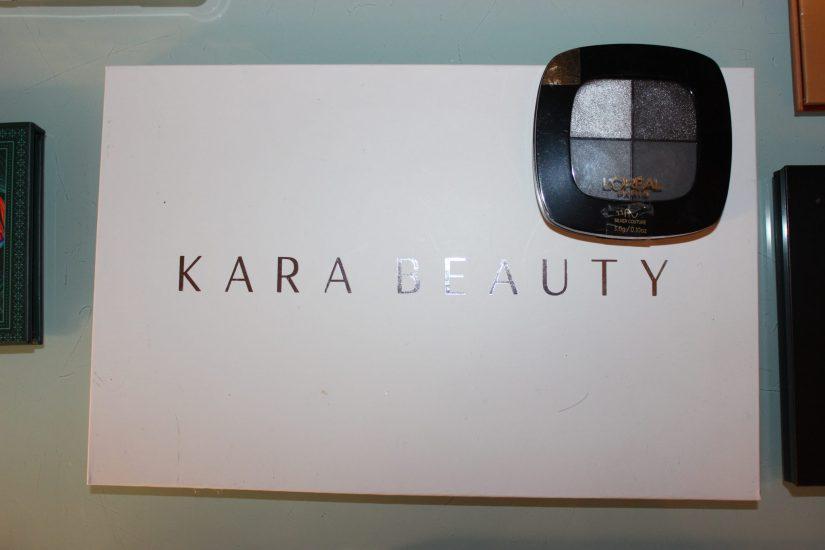 Grey Eye Palettes: Kara Beauty and Loreal