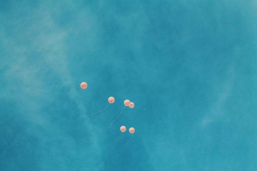 Pink Balloons for Morgan Nick