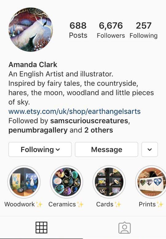 amanda clark instagram