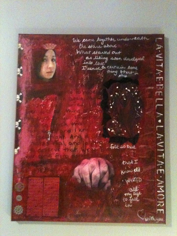 La Vitae Amore painting